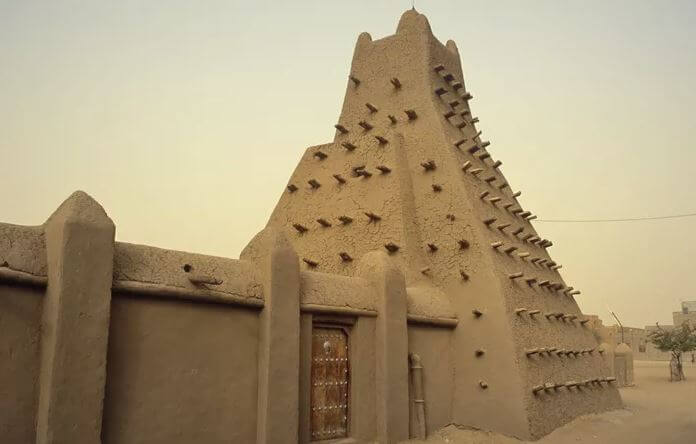 The Sankore Mosque in Timbuktu    ( Photo Credit: Amar Grover/Getty Images )